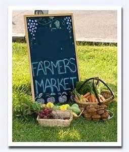 April Farmers market